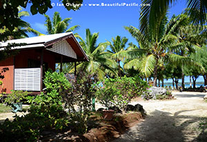 aitutaki village accommodation