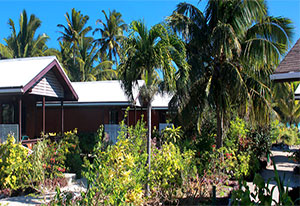 picture of the garden bungalow at samade on the beach